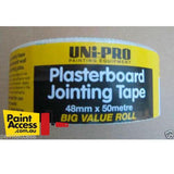 Uni-Pro Plasterboard Jointing Tape 48mm x 50m-Plasterboard Tools-PaintAccess.com.au