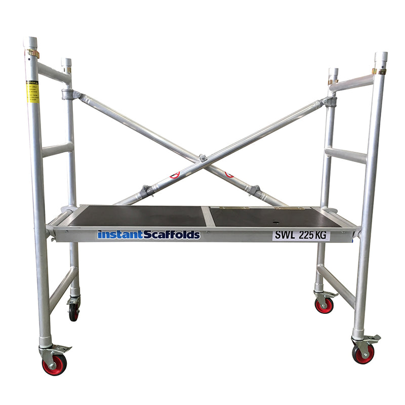Instant Access - Speedy Foldable Scaffold with Guardrail Extension Pack-Building Equipment-PaintAccess.com.au