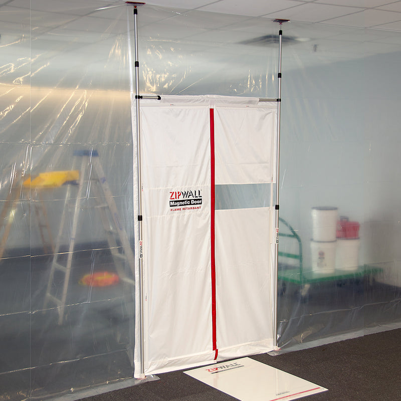 Zip Wall Magnetic Dust Barrier Door Kit (ZMD47)