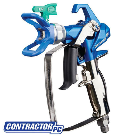 Graco Airless Contractor PC Spray Gun with RAC X LP 517 SwitchTip
