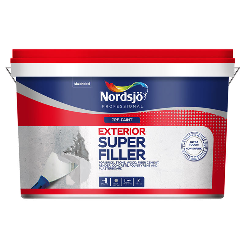 Nordsjö Super Filler - Exterior-Fillers & Adhesives-PaintAccess.com.au