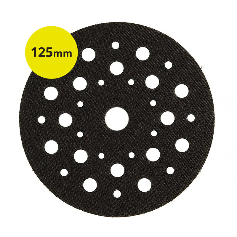 Mirka® Pad Saver For Deros - 125mm, 33 Holes - 5 Pack 8295511011