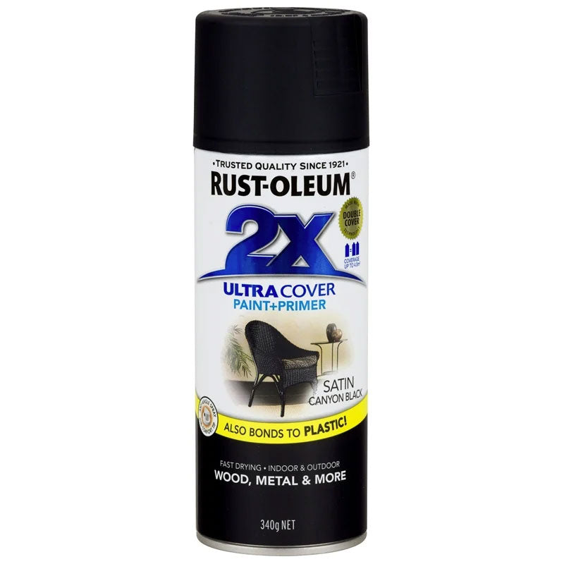 Rust-Oleum General Purpose 2x Ultra Cover Satin Spray-Paint additive-PaintAccess.com.au