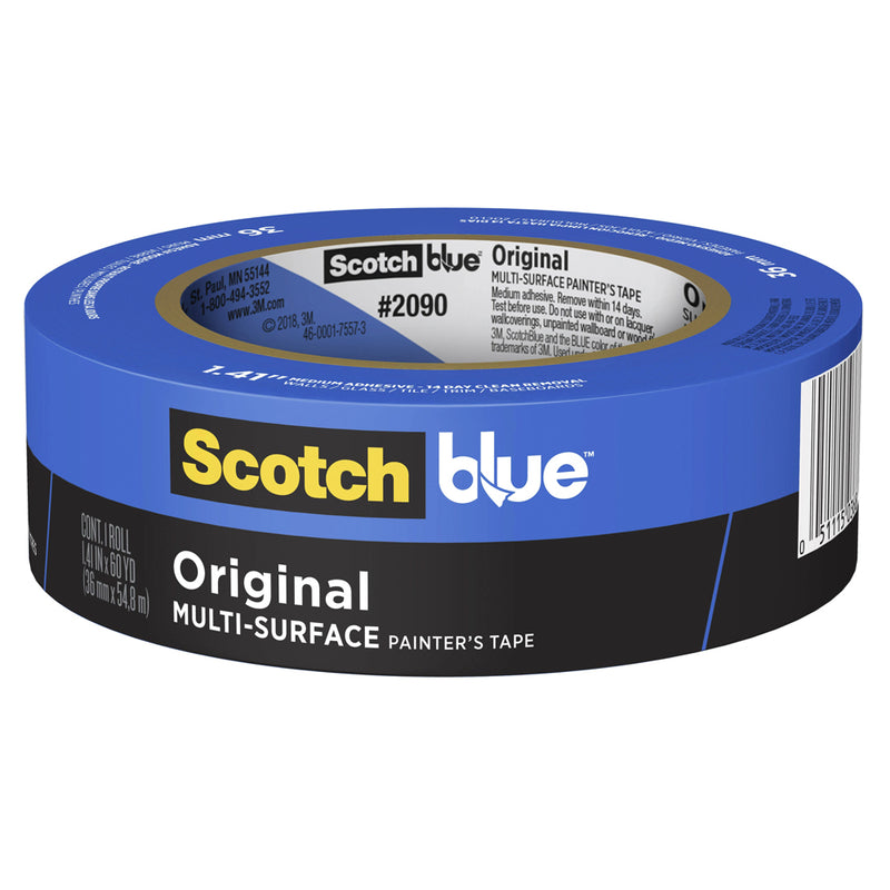 3M ScotchBlue 36mm x 55m Original Multi-Surface Painter's Masking Tape-Masking tape-PaintAccess.com.au