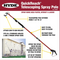 Hyde RVT Telescoping Pole Spray System-Extension pole-PaintAccess.com.au