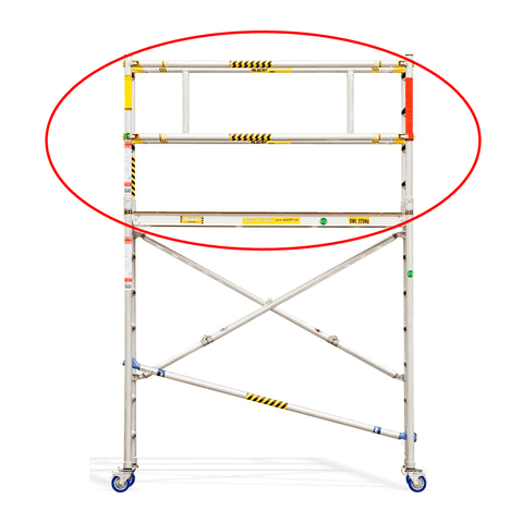 Oldfields Standard Scaffold Guardrail Extension Pack A 1.9m