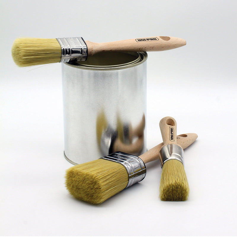 Uni-Pro Chalk Paint Brush Oval Range