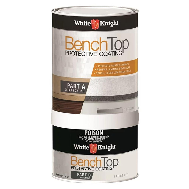WHITE KNIGHT® BENCH TOP PROTECTIVE COATING - 1L-Paint-PaintAccess.com.au