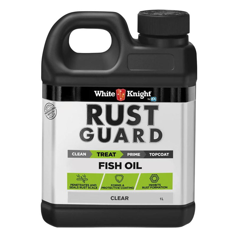 WHITE KNIGHT RUST GUARD® FISH OIL-SURFACE PREPARATION-PaintAccess.com.au