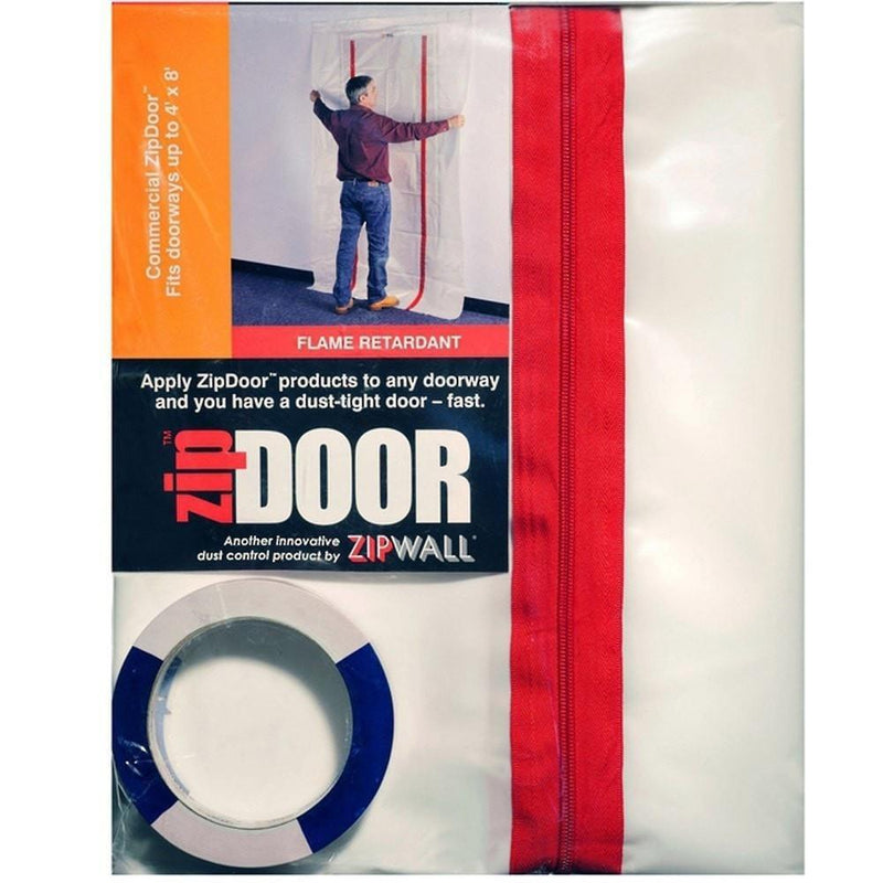Zip Wall ZipDoor Standard or X-Large-Protection-PaintAccess.com.au