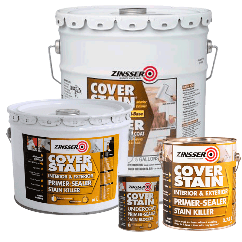 Zinsser Cover Stain Primer Sealer Stain Killer All Sizes-Primer-PaintAccess.com.au