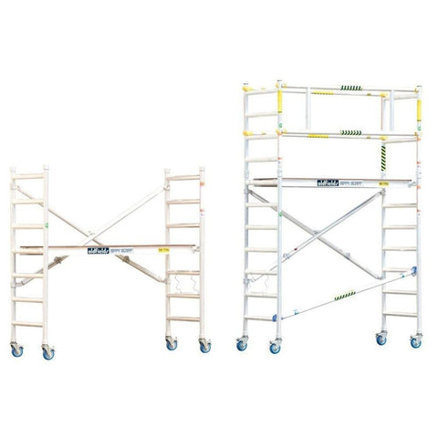 Oldfields Standard Scaffold Base Unit & Extension Pack 1.9m