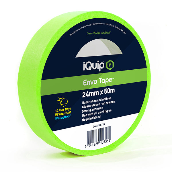 iQuip 30-Day Envo Masking Tape 24mm x 50m