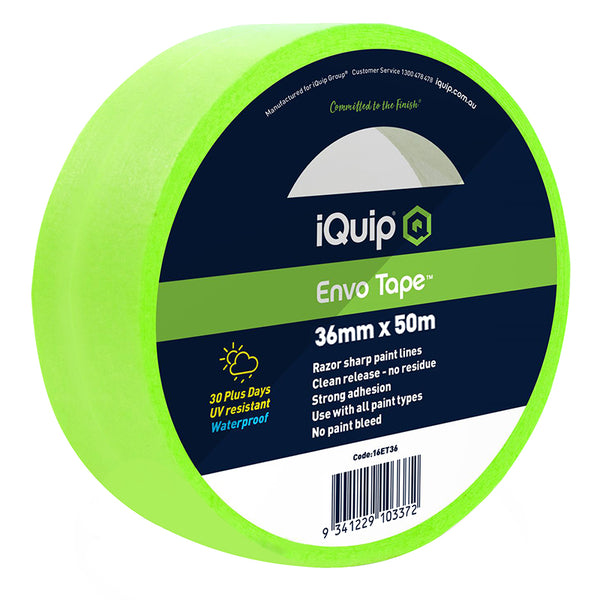 iQuip 30-Day Envo Masking Tape 36mm x 50m 16ET36