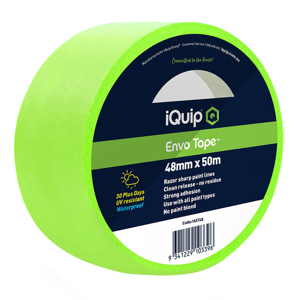 iQuip 30-Day Envo Masking Tape 48mm x 50m