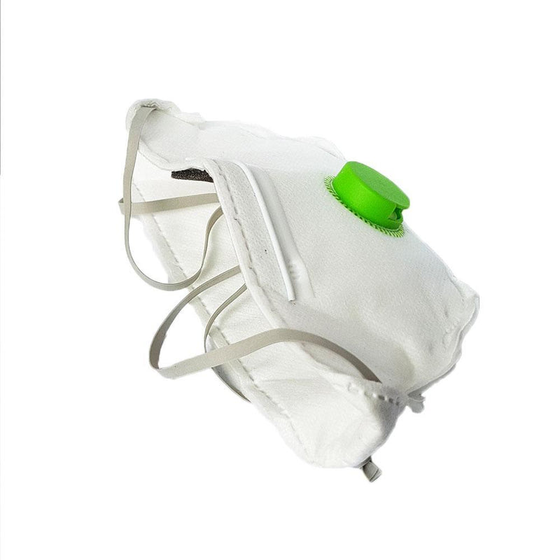 iQuip Disposable Flat Fold Respirator with Valve P2 provide Protection From Coronavirus-Health & Safety-PaintAccess.com.au
