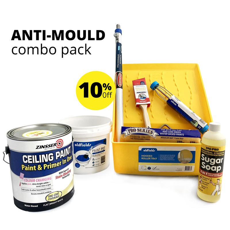 Anti Mould Combo Pack - SPECIAL Offers 10% off-Roller-PaintAccess.com.au