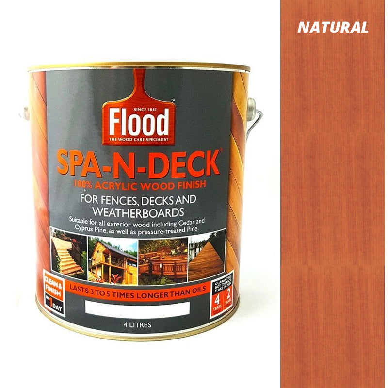 Flood Spa-N-Deck 4 Litres-Deck Products-PaintAccess.com.au