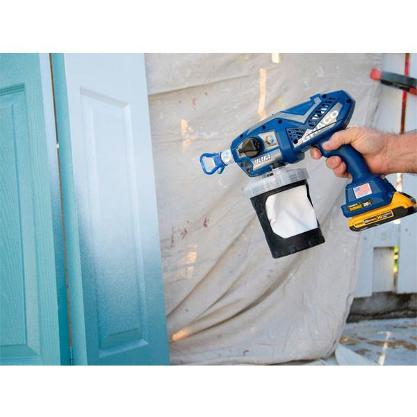 Graco Ultra Cordless Spray Gun with DeWalt Battery 17N221 - 7% off - Special Offer-Spray-PaintAccess.com.au