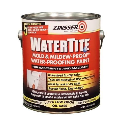 Zinsser - Watertite Mould & Mildew-Proof* Water-Proofing Paint-Paint-PaintAccess.com.au