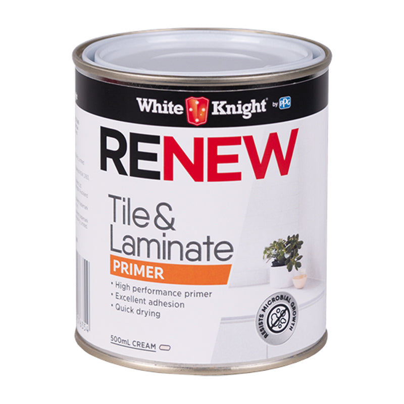 WHITE KNIGHT® Renew Tile And Laminate Primer Paint White Knight