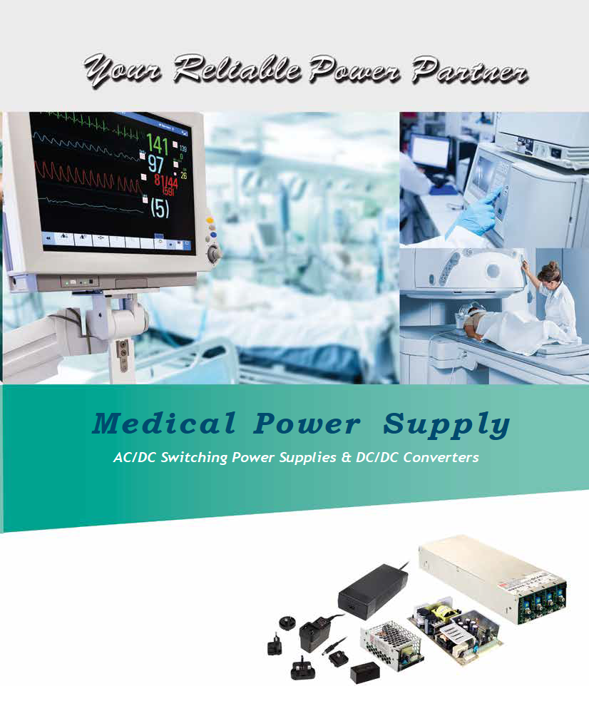 Mean Well medical power supplies