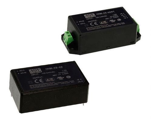 IRM-45-48ST 45W single out encapsulated type in 85-264vac; 48V/0.94A