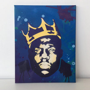 Notorious BIG - 2 Layer A3 Size Stencil