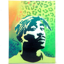 Load image into Gallery viewer, Tupac Shakur Stencil - 2 Layer A3 Size Stencil