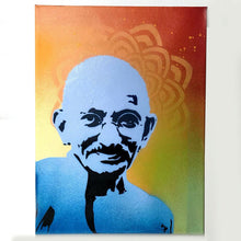 Load image into Gallery viewer, Mahatma Gandhi Stencil - 2 Layer A3 Size Stencil