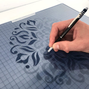 Mylar sheets - 10pcs A4 or A5 size plastic stencil sheets