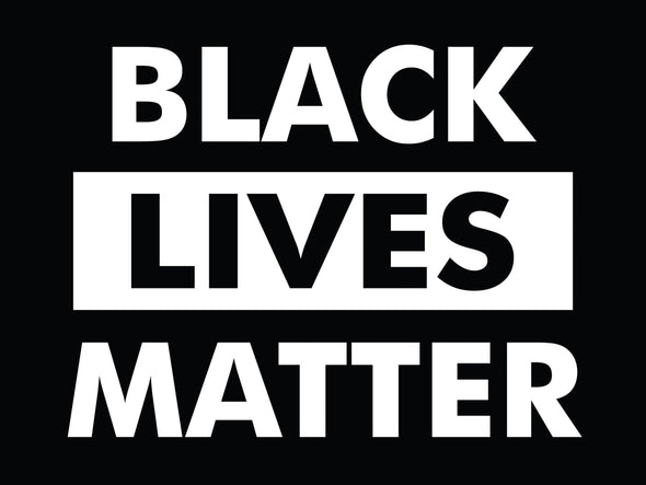 Black Lives Matter Bumper Sticker - Free Shipping!