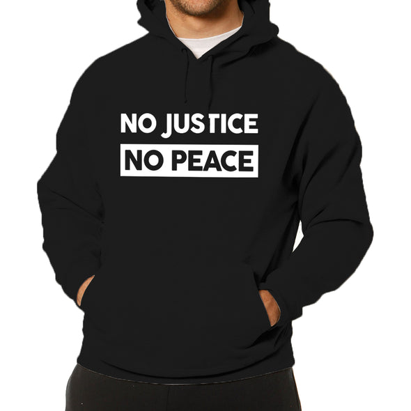 No Justice, No Peace Hoodie - Free Shipping!