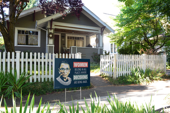 Notorious RBG Yard Signs