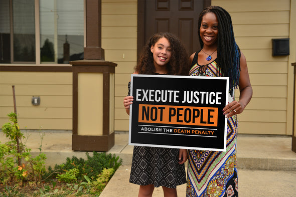 Execute Justice Yard Signs