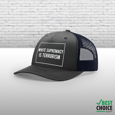 White Supremacy Is Terrorism Hats