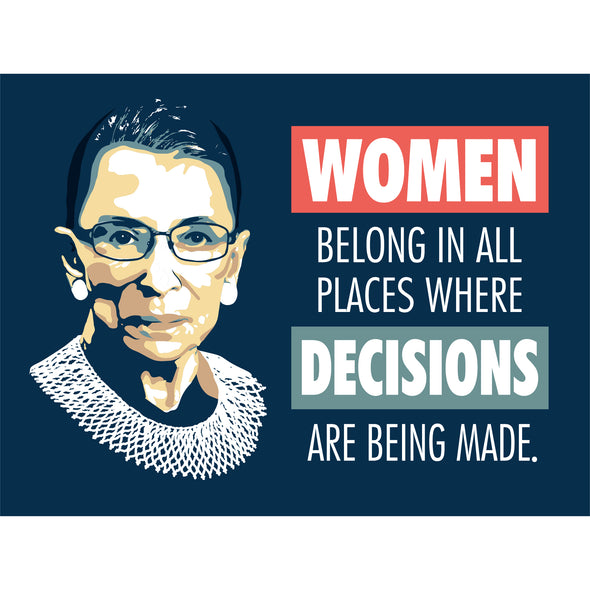 Notorious RBG Bumper Stickers
