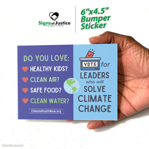 Climate Change Bumper Stickers