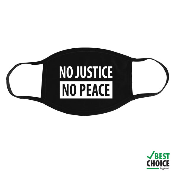 No Justice No Peace Mask