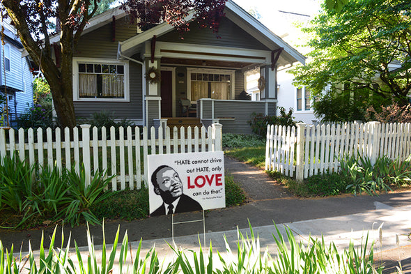 MLK Love Yard Signs
