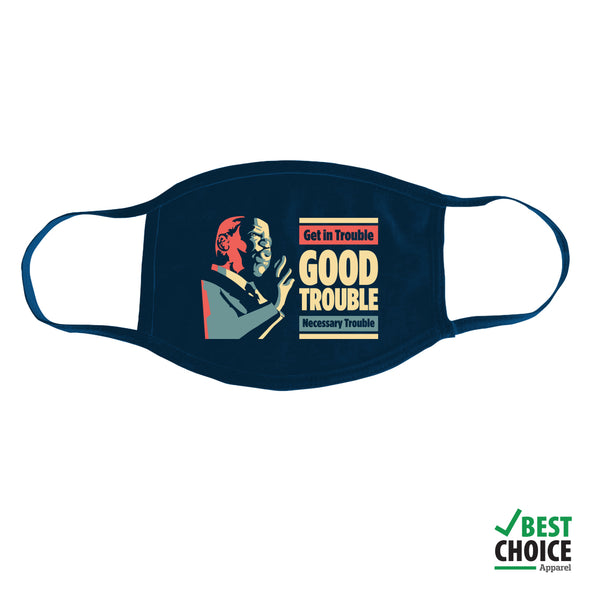 John Lewis: Good Trouble Mask