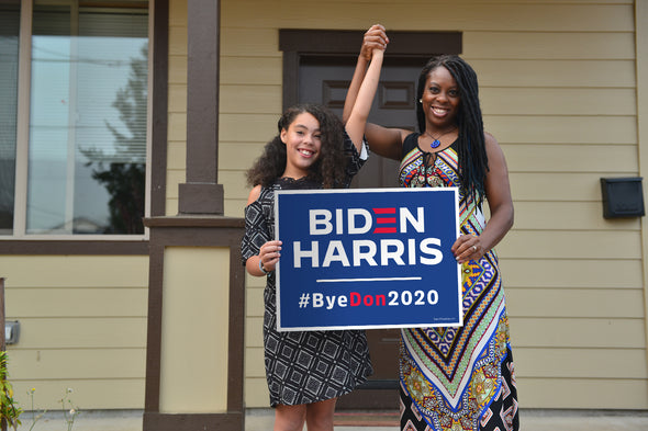 Biden Harris #ByeDon2020 Election Yard Signs