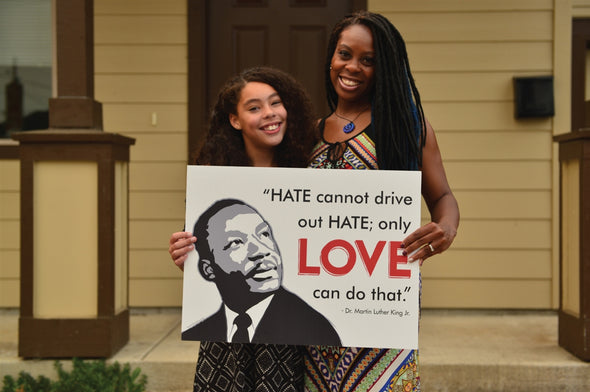 MLK Love Yard Sign
