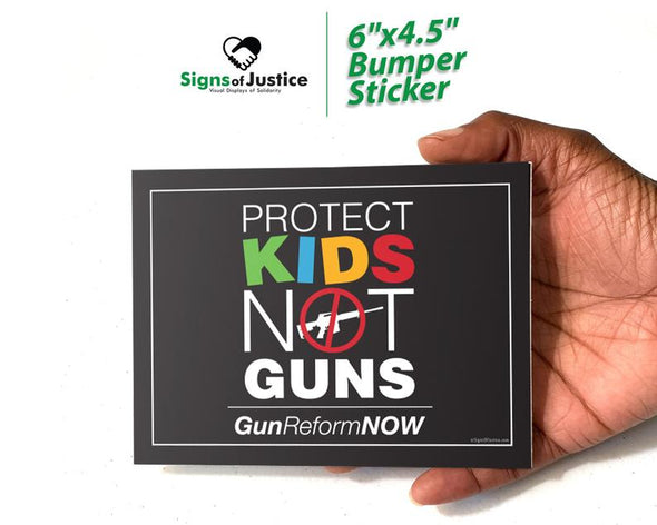 Protect Kids Not Guns Bumper Stickers
