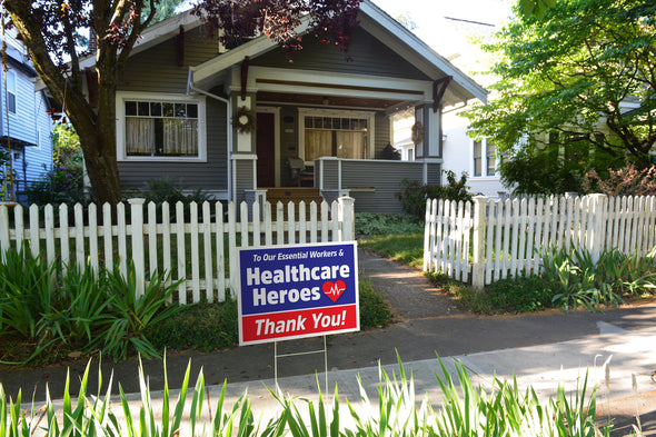 Healthcare Heroes Yard Sign