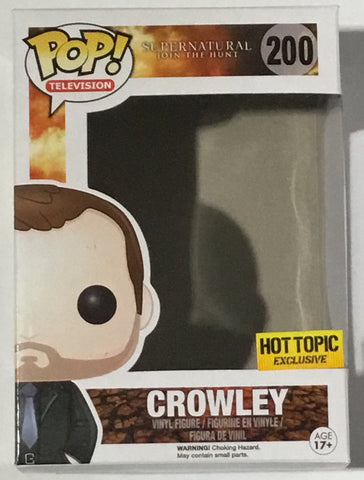 Crowley 200 Hot Topic Supernatural Replacement Box - Vaulted Collection LLC