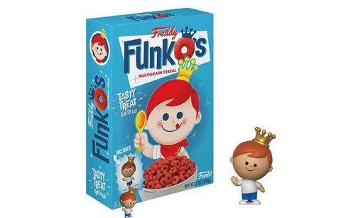 Funko Pop Freddy Funko Cereal - Vaulted Collection LLC
