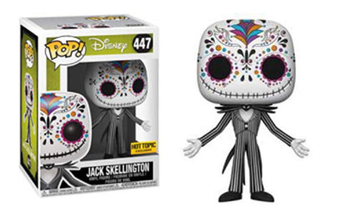 Funko Pop Jack Skellington Sugar Skull 447 Hot Topic Exclusive - Vaulted Collection LLC