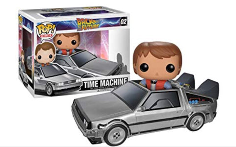 Funko Pop Time Machine 02 Back To The Future - Vaulted Collection LLC