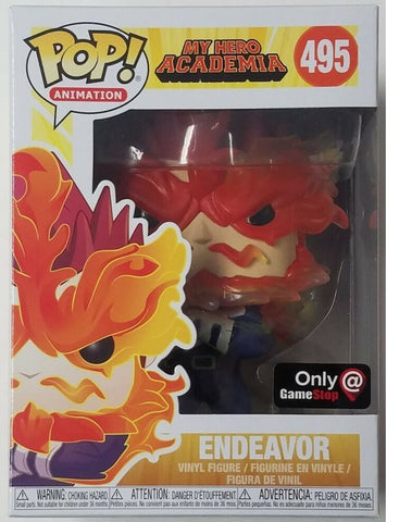 Funko Pop Endeaver 495 My Hero Hero Academia - Vaulted Collection LLC